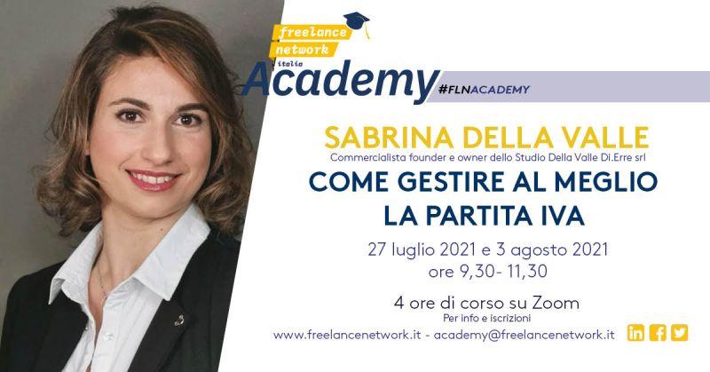 Locandina Sabrina Della Valle
